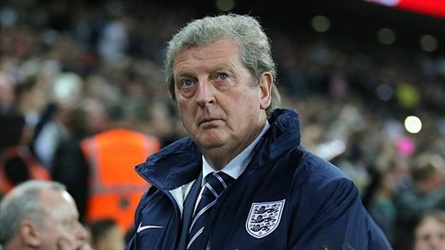 Roy Hodgson told the joke at half-time during Tuesday's match at Wembley