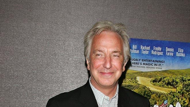 Bottle Shock NY Premiere 2008 Alan Rickman