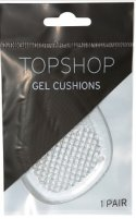 Topshop gel clear and glitter cushions, $10.
