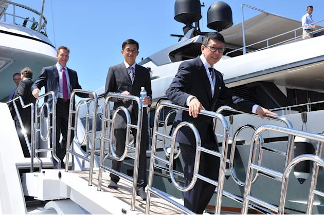 Singapore Yacht Show Day 1 (Photo courtesy of Grayling)