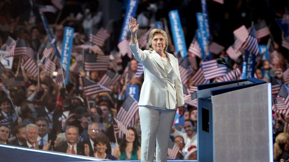 Hillary Clinton Makes History Accepting Democratic Nomination