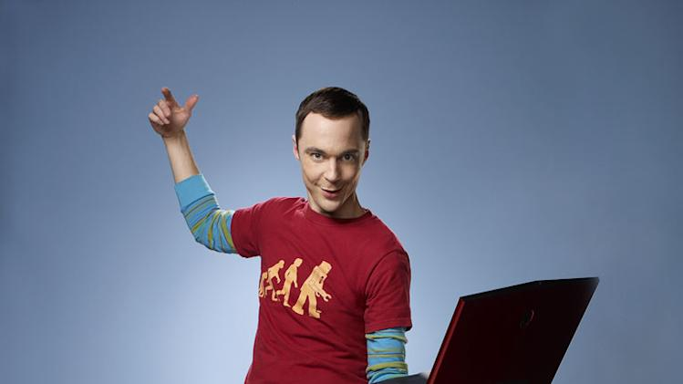 "Jim Parsons stars as Sheldon in ""The Big Bang Theory."""