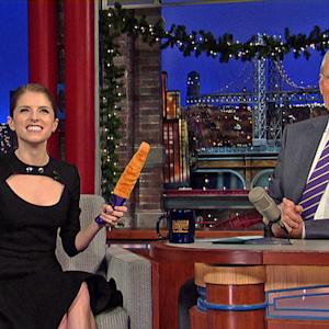 Anna Kendrick's Holiday Sex Toy - David Letterman