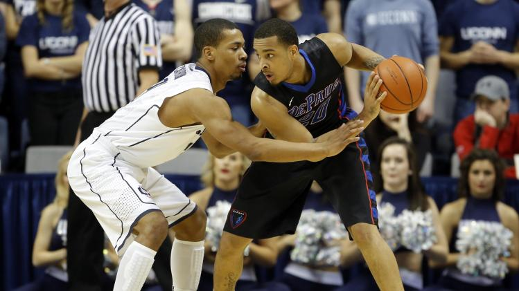 NCAA Basketball: DePaul at Connecticut