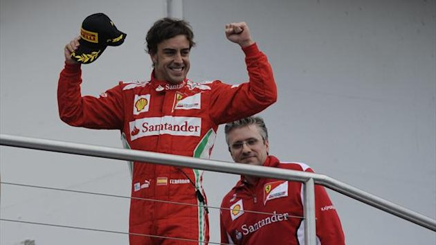 2012 German GP Ferrari Alonso Fry