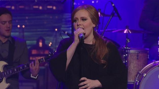 Rolling In The Deep (Live on Letterman)