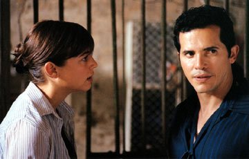 Leonor Watling and John Leguizamo in Palm Pictures' Cronicas
