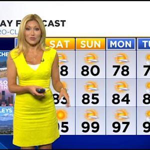 Jackie Johnson's Weather Forecast (July 10)