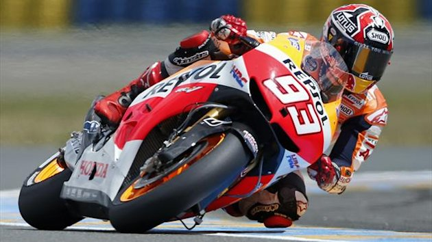 Honda MotoGP rider Marc Marquez of Spain (Reuters)