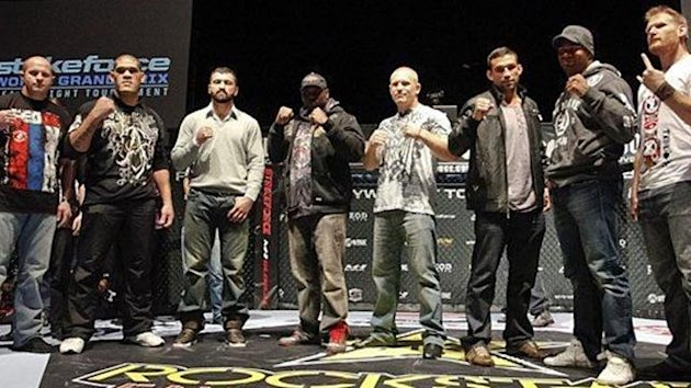 Strikeforce heavyweight tournament