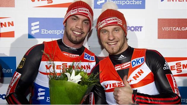 Luge - No stopping Wendl and Arlt in Konigssee