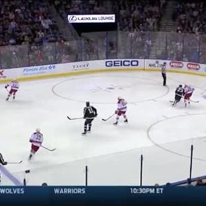 Cam Ward Save on Mark Barberio (06:29/3rd)