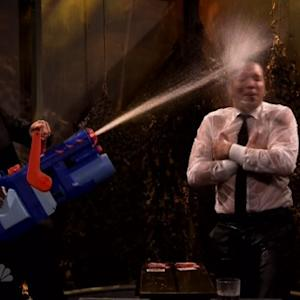 Jake Gyllenhaal Gets Soaked on 'Fallon'