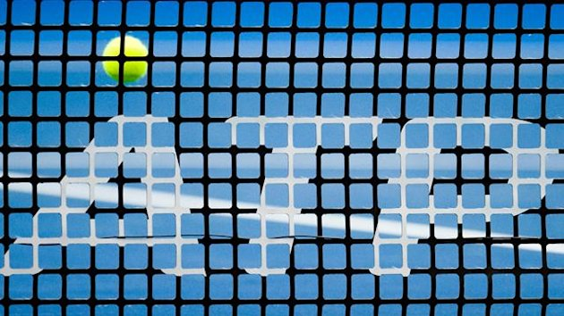 TENNIS ATP net ball