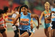 India's Ashwini Akkunji during the women's 4x400m relay final at the Asian Games in Guangzhou in 2010. The Court of Arbitration for Sport has increased a dope-related ban on six Indian women athletes from one year to two years, the body said on Thursday