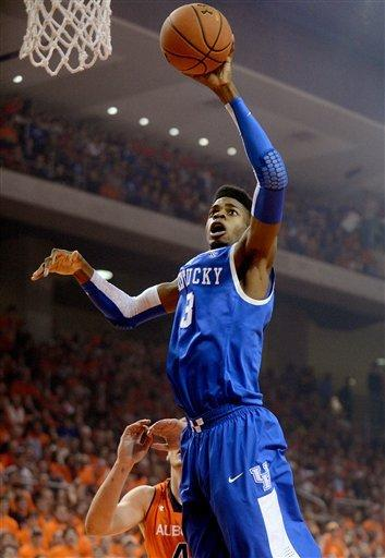 Wiltjer, Kentucky rout cold-shooting Auburn 75-53