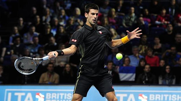 Novak Djokovic ATP World Tour Finals 2012