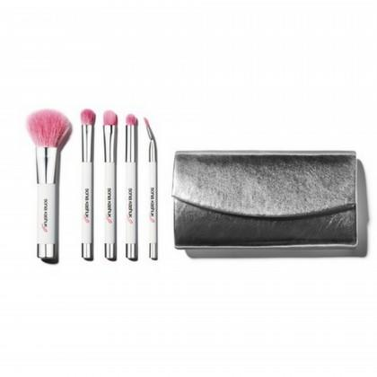 Proudly Pink Six-Piece Purse Brush Set