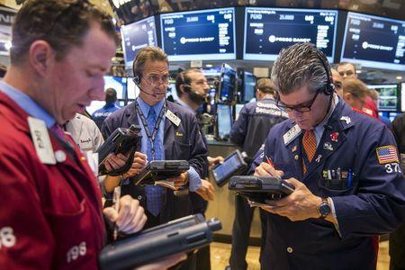 Wall Street lower as Greece, China weighs