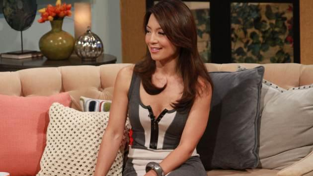 Ming-Na Wen stops by Access Hollywood Live on October 14, 2013 -- Access Hollywood