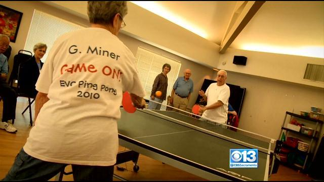 Researchers Find Ping-Pong Can Slow Effects Of Dementia, Alzheimer's