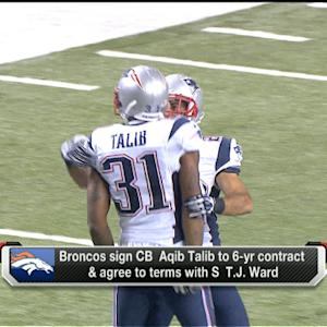 McGinest: Aqib Talib 'wanted to be a New England Patriot'