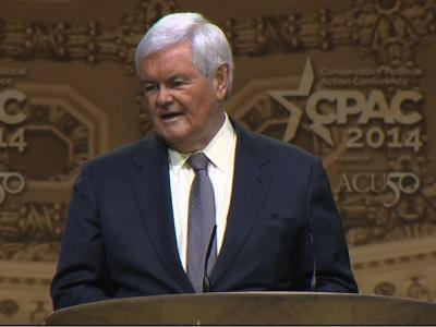 Gingrich to CPAC: 'Time for a Big Rebellion'