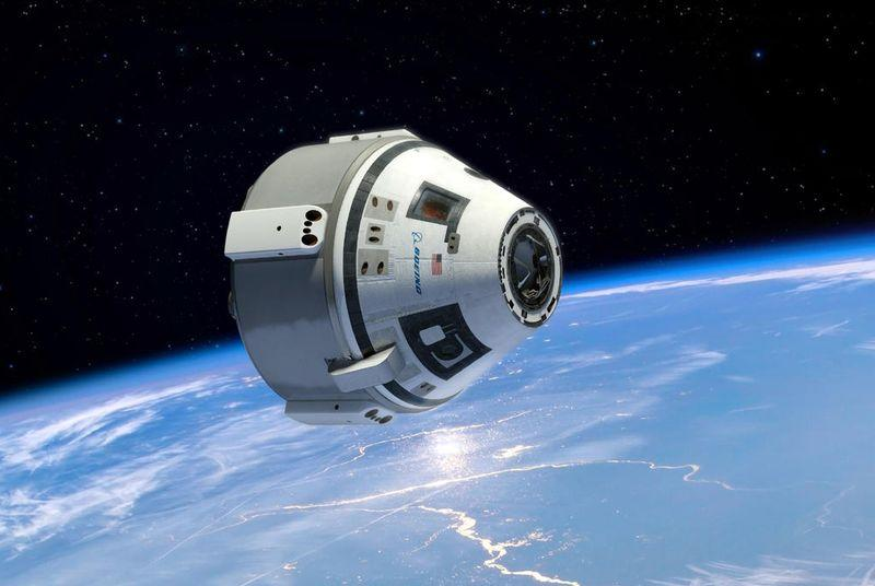 Boeing's commercial space taxi is now officially named Starliner