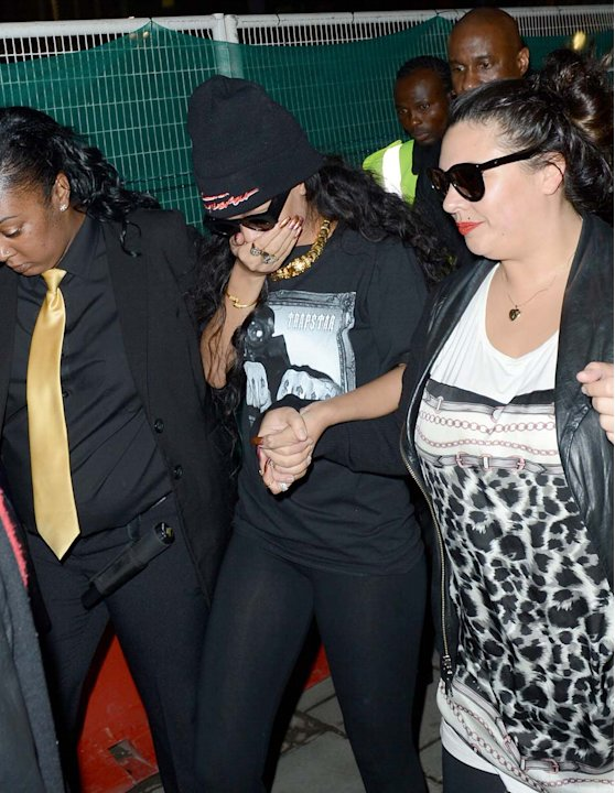 Rihanna en Londres