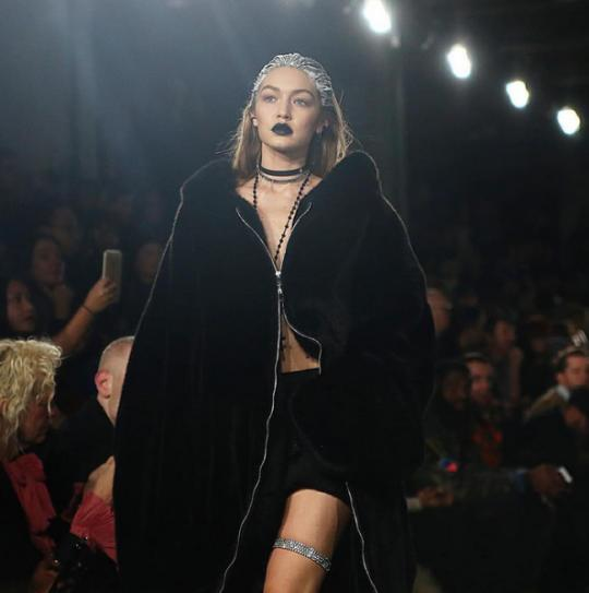 Rihanna Turned Gigi Hadid into a Gothic Ice Queen for Fenty x Puma