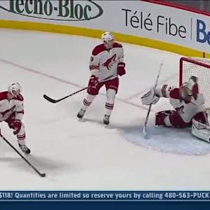 Smith stops Canadiens attack with great snag