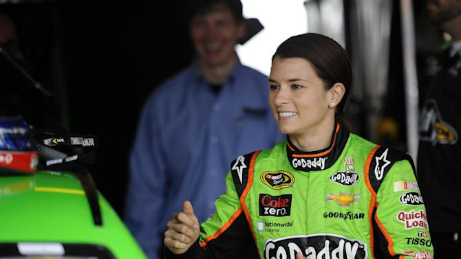 Danica gets pink car for breast cancer awareness