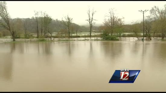 Nearly 6 inches of rain fall in Boone