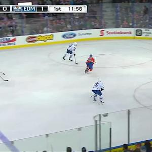 Leivo roofs puck past Talbot