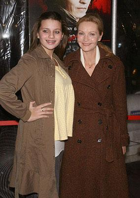 Joan Allen and daughter at the New York City premiere of DreamWorks Pictures' Sweeney Todd: The Demon Barber of Fleet Street
