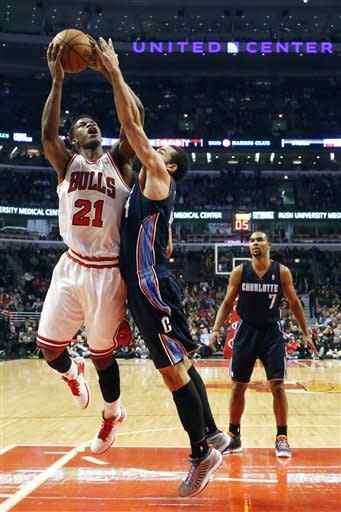 Butler scores 19 to lead Bulls past Bobcats, 93-85