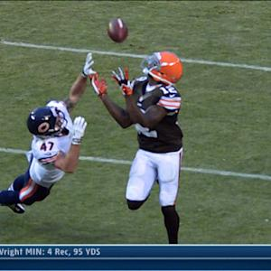 Cleveland Browns wide receiver Josh Gordon 43-yard TD catch