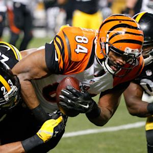 Cincinnati Bengals tight end Jermaine Gresham 5-yard TD reception