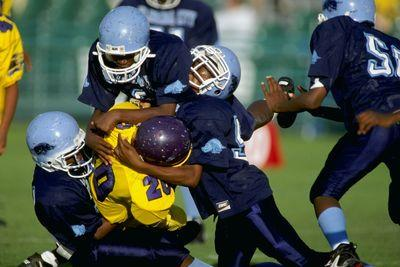 New study: Playing tackle football as a child could be especially risky for the brain