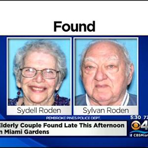 Missing Couple Suffering From Dementia, Alzheimer's Found