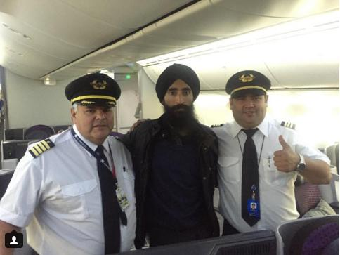 UPDATE: Sikh American Actor Waris Ahluwalia Flies Home, Ending Dispute Over Turban