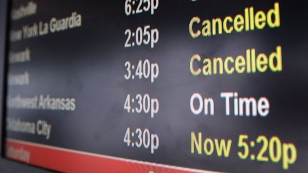 Flight Cancellations Mount as Triple-Threat of Winter Weather Looms (ABC News)