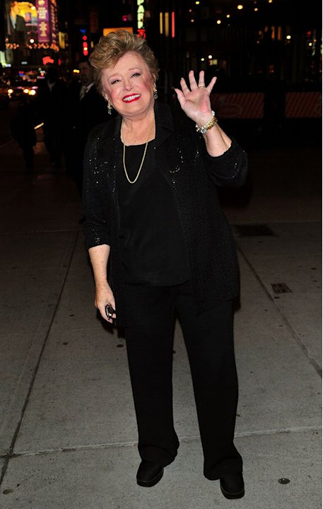 Rue McClanahan attends the Broadway opening of ''The Story of My Life'' at Sardi's on February 19, 2009 in New York City.