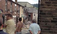 Houses Damaged In Large 'Gas' Explosion