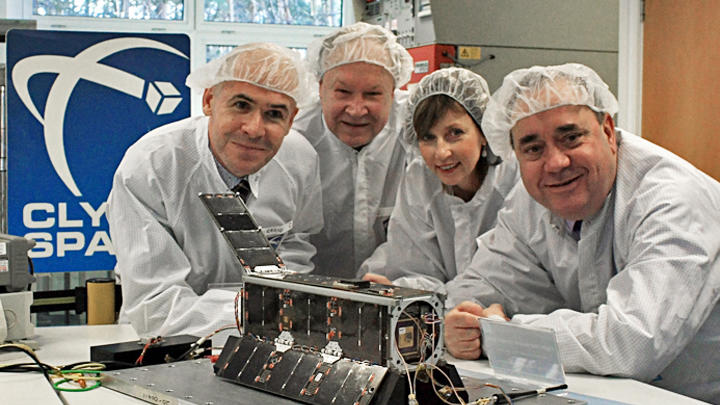 World's first pop-art satellite headed to space