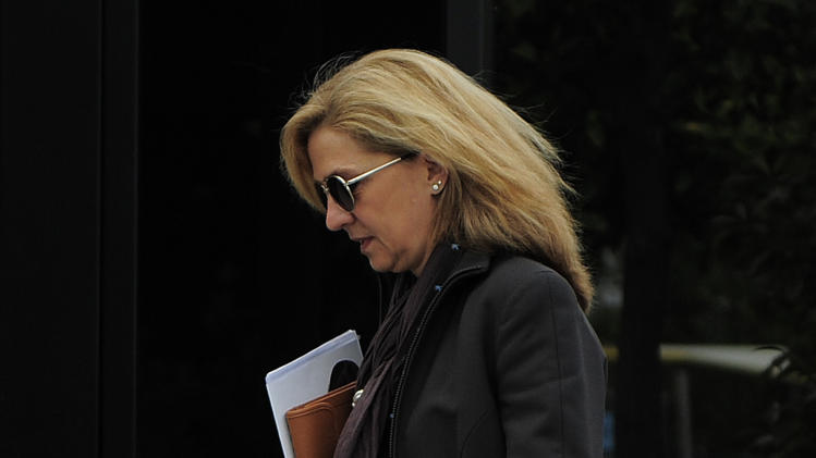 Spanish court drops subpoena of king's daughter