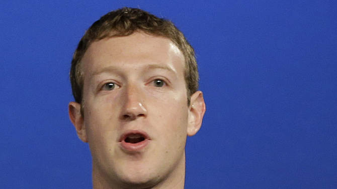 Facebook CEO reaps $3.3B gain from stock options