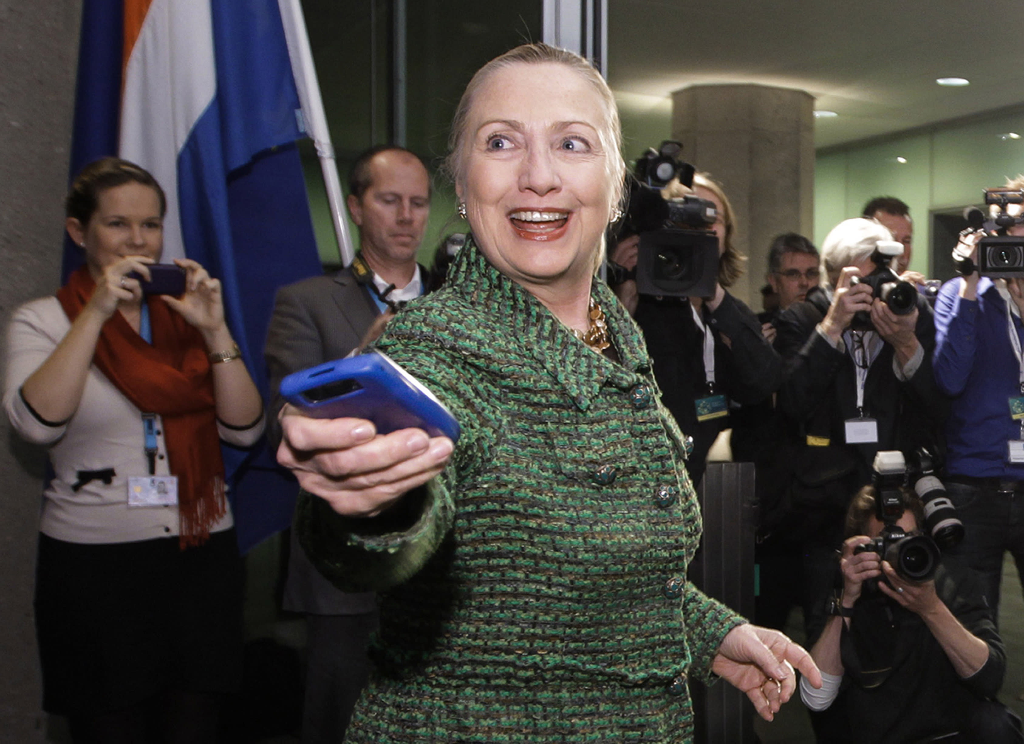 State Department found 4 emails about drones sent by Clinton