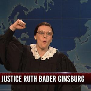 Weekend Update: Ruth Bader Ginsberg
