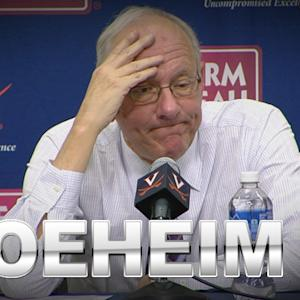 Syracuse Head Coach Jim Boeheim Speaks After Tough Loss To Virginia